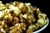 caramel popcorn    no bake    yummo