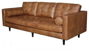 mid century modern leather couch. Elegant Leather Mid Century Sofa Maxwell Modern Midcentury Sofas Zin Home Couch L