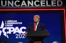 Trump's CPAC 2021 speech was heavy on ...