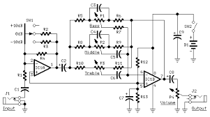 acoustic guitar blender preamp diyaudio click the image to open in full size