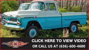 1959 Chevrolet Apache 4x4 || SOLD - YouTube