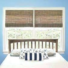 Beach House Window Treatments Cottage Treatment Driftwood Bamboo Roman  Shade Curtains Summer