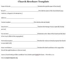 Church Program Templates Free Download Gallery Church Program Templates Free Download Image
