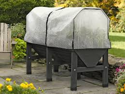 charcoal vegtrug patio garden with covers