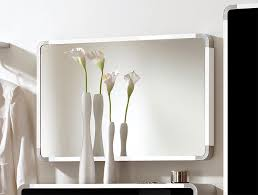 framed modern mirror. Indra Wall Mounted Mirror With White High Gloss Frame Framed Modern U
