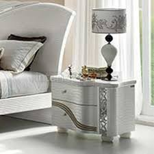 italian white furniture. miro luxury italian bedroom set white furniture n