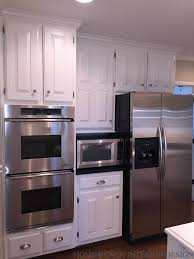 painted kitchen cabinets before and after. Brilliant Before Before And After Painted Kitchen Cabinet  Cabinet Ideas  In Cabinets And