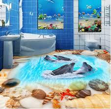 Photo 10 of 12 3D Flooring Designs - 3D Bathroom Floor Murals (marvelous 3d  Floor Designs #11)