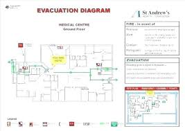 Site Plan Template Sample Evacuation Plan Template