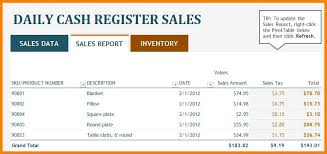 Daily Sales Template Excel Daily Sales Report Template Excel Urldata Info
