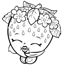 Colouring Pages For Girls Print Cute Shopkins Coloring All Things