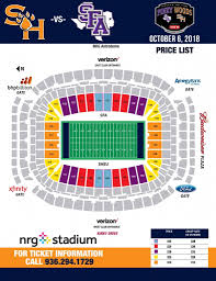 Reliant Stadium Soccer Seating Chart Nrg Stadium Seating Chart Seating Chart