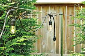How To Hang Outdoor String Lights Simple How To Install Outdoor String Lights How To Hang String Lights How