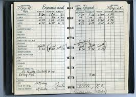 golf log marilynn smith 1957 expense tax record log book wghof