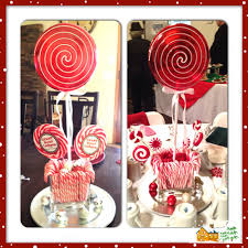 Candy Cane Table Decorations Candy Cane Table Decorations Holiday Decorations Pinterest 10