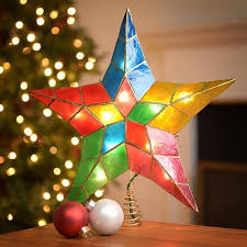 Christmas Tree Topper Lighted  FiauimpcomChristmas Tree Lighted Star