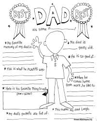 Small Picture Free printable Fathers Day Coloring Sheet print fathersday
