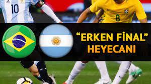 Brezilya Arjantin Copa America maçı saat kaçta ve hangi kanalda?