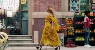 Beyonce Lemonade Dress Designer Beyonce Lemonade Yellow Dress Oshun Roberto Cavalli