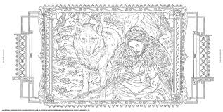 Game Of Thrones Coloring Book Pages With Hbo S Amazon Co Uk Books