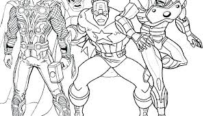 Coloring Pages Avengers Coloring Pages Infinity War Marvel Pag