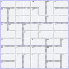 Killer Sudoku Combinations Chart Killer Solving Guide