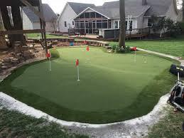 practice golf greens