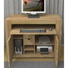 atlas chunky oak hidden home. atlas chunky oak hidden home office desk working chairs
