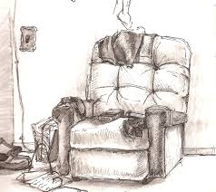 comfy chair drawing. Modren Drawing Example Of Gesture Drawing Moving Towards The Contour Line On Comfy Chair Drawing