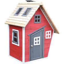 Spielhaus Rot 160 Cm X 838 Cm X 794 Cm Kaufen Bei Obi