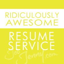 Resume Service Extraordinary Ridiculously Awesome Resume Service JobJenny