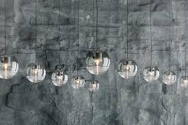hand blown glass lighting pendants. a smokedglass hand blown glass lighting pendants o
