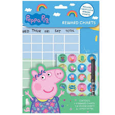 Peppa Pig And Friends Reward Chart Super Universe