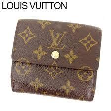 louis vuitton louis vuitton w hook wallet men s possible porto foy yue leeds monogram brown pvc x leather reference list 65 100 yen c564