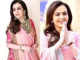 Nita Shah Designer This Is Nita Ambanis Favourite Colour Times Of India