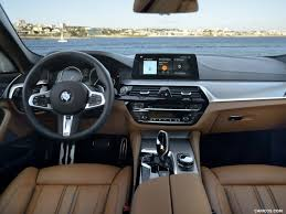 BMW 5 Series bmw 5 series red interior : 2017 BMW 5-Series 540i M Sport - Interior, Cockpit | HD Wallpaper #273