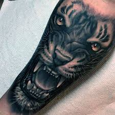 tiger roar tattoo. Delighful Tattoo Tiger Growling Awesome Mens Forearm Tattoo Ideas For Roar 1