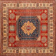 8x8 square rug red 7 to 8 ft wool carpet rugs