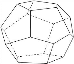 Реферат Правильные многогранники ru Получаем правильный двенадцатигранник у которого каждая грань правильный пятиугольник Этот многогранник называется правильным додекаэдром додекаэдр