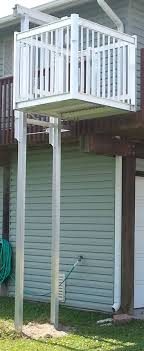 Best Images About Cargo Lifts On Pinterest - Exterior wheelchair lifts