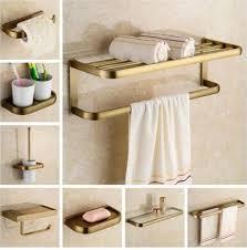 <b>Free shipping</b>,<b>solid brass</b> Bathroom Accessories Set, Antique Robe ...