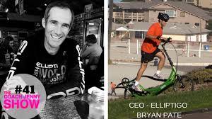 ElliptiGO CEO Bryan Pate and Running Reinvented