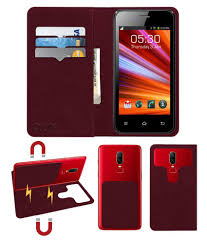 Celkon A87 Flip Cover by ACM - Red 2 in ...