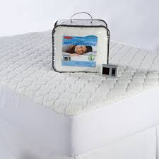 Biddeford Sherpa Quilted Heated Electric Mattress Pad