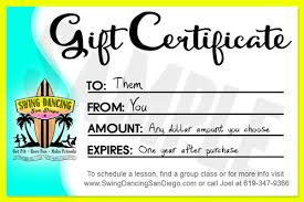 Certificates To Make 15 Gift Certificate