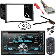 kenwood dpx502bt double din bluetooth cd mp3 car stereo receiver for complete entertainment get this stereo bundle package to enjoy the ride replacing your factory radio an 1 of the most advanced aftermarket