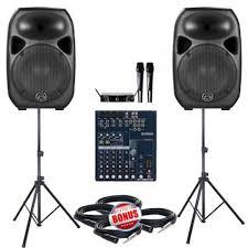 sound system. paket sound system meeting 2 a