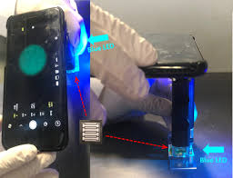 Blue Light Germ Detector Smartphone Based Device For Detecting Norovirus The Cruise