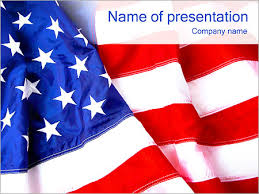Usa Flag Powerpoint Template Infographics Slides