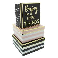 Stacking Boxes Decorative Decorative Stacking Storage Boxes With Lids 57